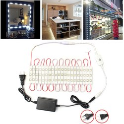Dimmable Waterproof 12W SMD5630 60 LED Module Strip Under Cabinet Mirror Light Kit AC110-240V 1