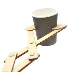 Reach Out Wooden Robot Arm Grabber Novelties Toys Scissor Flexible Funny Toy 1