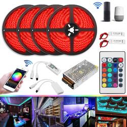 20M 20A 240W SMD5050 IP20 Smart Home WiFi APP Control LED Strip Light Kit Work With Alexa AC110-240V 1