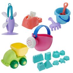 BESTKIDS 16Pcs/Set Creative Children Kids Beach Play Toys Truck Sand Dredging Funny Gift 1