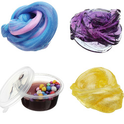 60ML Multicolor Mixed Cotton Plasticine Slime Mud DIY Gift Toy Stress Reliever 1