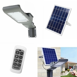 20W Waterproof 20 LED Solar Light with Long Rod Light/Remote Control Street Light for Outdoor 1