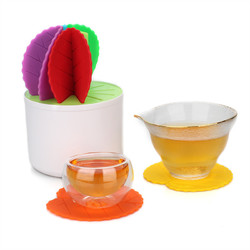 Decorating Cactus Potted Table Coaster For Drinks Non-slip Kitchen Table Place Mats Silicone 1