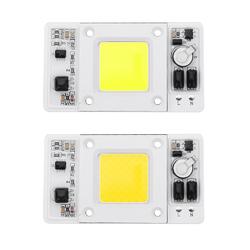 LUSTREON 50W COB LED Chip Waterproof Light Source AC180-300V for DIY Spotlight Floodlight 1