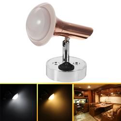 Angle Adjustable LED Reading Light Wall Lamp Spot Light Book Light White/Warm White 1