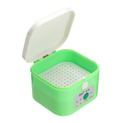 Digital Hearing Aid Dryer Electric Drying Box Dehumidifier 3/6 Hour Timer Moisture Proof Maintain 1