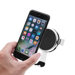 Bakeey 10W Gravity Auto Lock Qi Wireless Fast Car Charger For iPhone X 8Plus Xiaomi Mix 2s S9+ S8 1