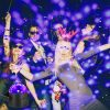 3W UV Purple LED Stage Light Self-propelled/Voice-activated/Flashing Crystal Ball Party Disco Club 5