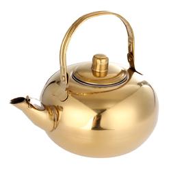 Stainless Steel Tea Pot Kettle Removable Infuser Filter Tea Pot 14/16/18/20cm 1