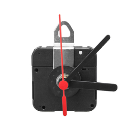 DIY Quartz Clock Movement Mechanism Module Kit Hour Minute Second with Metal Hanger 1