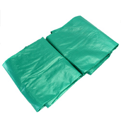 PE 5.4?—7.3m/17.7?—24ft Outdoor Waterproof Camping Tarpaulin Field Camp Tent Cover Car Cover Canopy 1