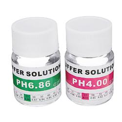 2Pcs 25ml PH 4.00/6.86 Meter PH Buffer Calibration Kit Buffer Solution Potassium Chloride 1