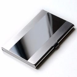Men Business Bank Stainless Credit ID Card Case Holder Box Book Wallet Folder Dispencer Pocket 1