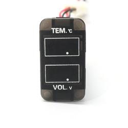 LED Digital Voltmeter Temperature Gauge Meter For Toyota 4Runner FJ Cruiser 1