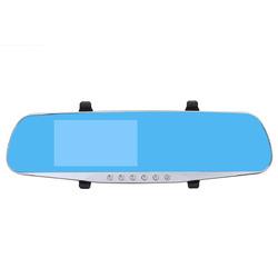 Winksoar 4.3 Inch 1080P HD Rear view Blue Mirror Dual Lens Car DVR Dash Cam Camera Recorder 1