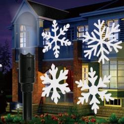Portable 6W USB 12 Colorful Patterns 6 LED Rotating Flashlight Halloween Christmas Party Bar Decor 1
