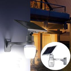 6W Solar Power LED Light Sensor LED Security Spotlight Wall Outdoor Garden Light Waterproof 1