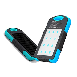 XANES SP2 Solar Charging Power Bank Phone Charger & Camping Tent Work Light Outdoor Flashlight 1