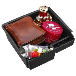 Black Car Center Console Tray Armrest Storage Box for Ford Ranger 2012-2018 Left Driving 1