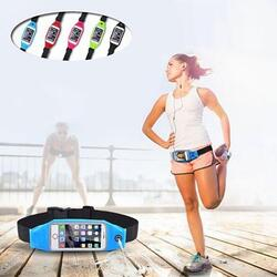 BOOST BELT Exercise Essential Pouch and Smartphone Case -Size: 4.7 Inch (iPhone 6 / Galaxy 4 Etc.), Color: White 1