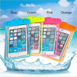 EverGlow WaterProof Pouch For Your Smartphone And Essentials - Color: Blue 1