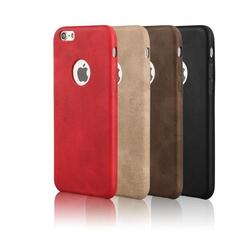 iPhone 7 Vintage Leather Style Case -Phone Style: iPhone 7 Plus, Case Color: Tan 1