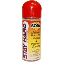 Body Action Stayhard Male Lube 2.3oz. 1