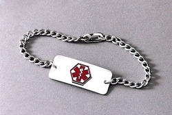 Medical Identification Jewelry-Bracelet- Heart 1