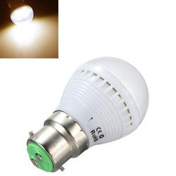 B22 2.5W Warm White 7 SMD 5050 LED Light Bulb Lamp 110-240V 1
