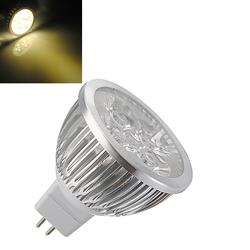 MR16 4W Warm White High Power Focus 4 LED Spot Lamp Bulbs AC/DC 12V 1