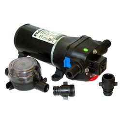 FloJet Heavy Duty Deck Wash Pump - 40psi/4.3GPM/12V 1