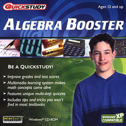 QuickStudy Algebra Booster for Windows PC 1