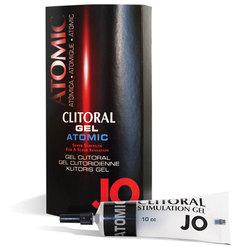 JO Clitoral Gel Warming Atomic 10cc 1