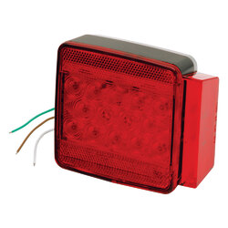"""Wesbar Under 80"""" Submersible LED 6-Function Right/Curbside Trailer Light 1"""