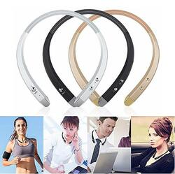 Sonic Halo Bluetooth Neckband Headphones with Microphone - Color: Pink 1