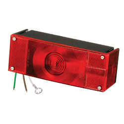 """Wesbar Low Profile 7 Function Right-Curbside Trailer Light 80"""" 1"""