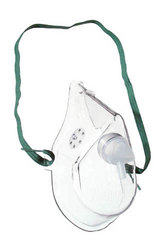 Oxygen Mask Adult w/7' Tubing Medium Concentration (Each) 1