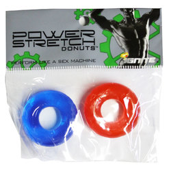 SI Power Stretch Donuts 2Pk Red/Blue 1