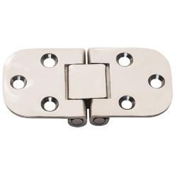 """Whitecap Flush Mount 2-Pin Hinge - 304 Stainless Steel - 3"""" x 1-1/2"""" 1"""