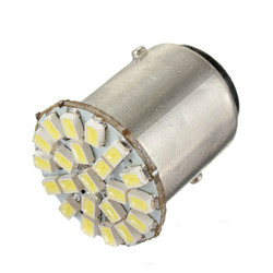 1Pcs 1157 BA15D 22-SMD LED Car Backup Reverse Turn Signal Tail Light Bulb Lamp DC12V 1.4W White 1