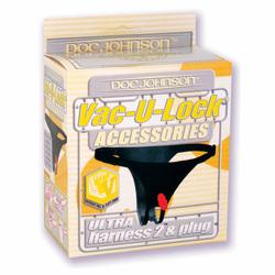 Vac-U-Lock Ultra Harness w/Plug Black 1