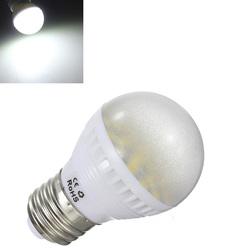 E26 6W Pure White Medium Base 24 SMD 5050 LED Energy Saving Bulb 110V 1