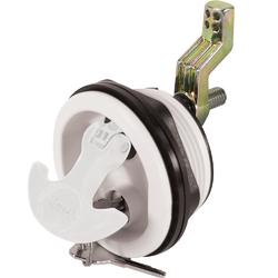 Whitecap Locking Nylon T-Handle - White/White 1
