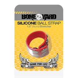 Boneyard Ball Strap Red 1