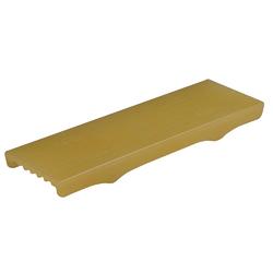 "C.E.Smith Flex Keel Pad - Full Cap Style - 12"" x 3"" - Gold 1"