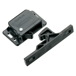 Southco Grabber Catch Latch - Side Mount - Black - Pull-Up Force 22N (5lbf) 1