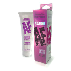 Aroused Af, Stimulation Cream 1