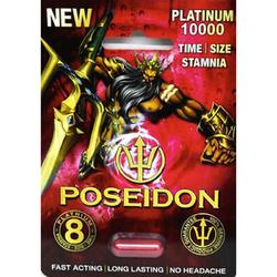 Poseidon Platinum 10000 1Pk(25/Dp)Red BX 1