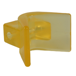 "C.E. Smith Y-Stop 3"" x 3"" - 1/2"" ID Yellow PVC 1"