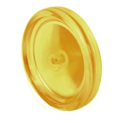 """C.E. Smith Bow Roller - Yellow PVC - 8"""" 1"""
